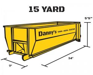 15-Yard Dumpster